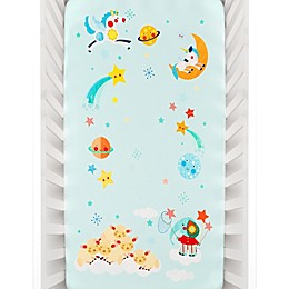 Rookie Humans Lil' Lamb's Dream Fitted Crib Sheet