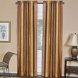 Ombre 84-Inch Rod Pocket Window Curtain Panel in Autumn (Single)
