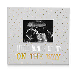 Pearhead® Little Bundle of Joy 3-Inch x 4-Inch Picture Frame in Gray