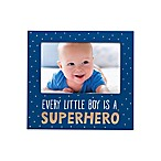 Pearhead® Superhero 4-Inch x 6-Inch Picture Frame in Blue