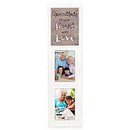 Malden® Grandkids Fill Your Heart With Love Laser Cut-2 Photo Picture Frame