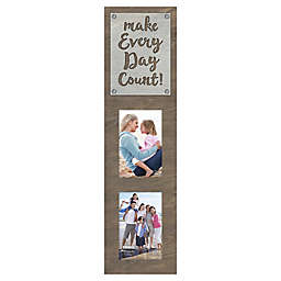 Malden® Make Every Day Count Laser Cut-2 Photo Picture Frame