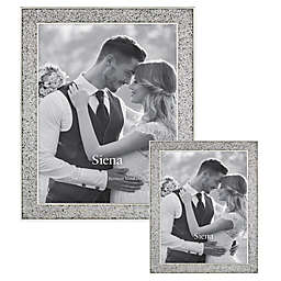 Siena™ Enameled Glitter Wedding Picture Frame