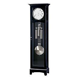 Howard Miller® Urban III Floor Clock in Black Satin