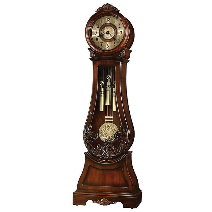 Alternate image 1 for Howard Miller® Diana Floor Clock in Embassy Cherry