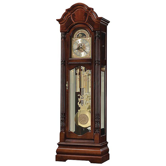 Alternate image 1 for Howard Miller® Winterhalder II Floor Clock in Windsor Cherry