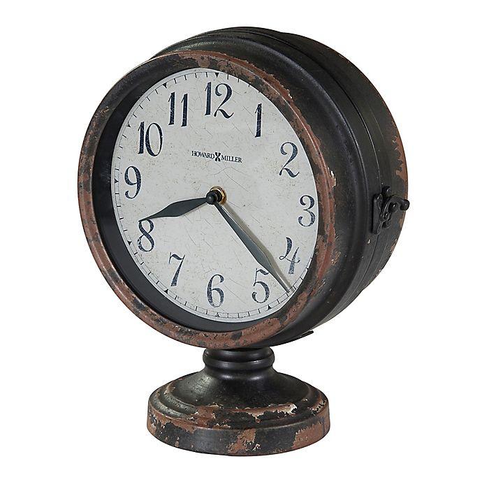 Alternate image 1 for Howard Miller® Cramden Mantle Clock in Antique Black