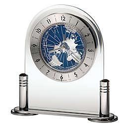 Howard Miller® Discover Tabletop Clock in Silver