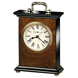 Howard Miller® Berkley Tabletop Clock in Walnut/Black