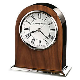 Howard Miller® Palermo Tabletop Clock in Walnut/Black