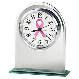 Howard Miller® Hope Tabletop Alarm Clock in Silver