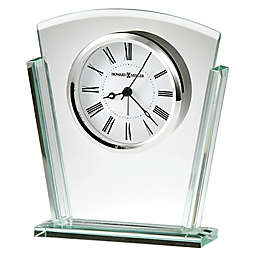 Howard Miller® Granby Tabletop Alarm Clock in Glass