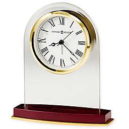 Howard Miller® Anson Tabletop Clock in Satin Rosewood