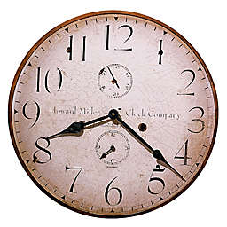 Howard Miller® Moment in Time 18-Inch Wall Clock in Wood