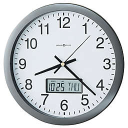 Howard Miller® 14-Inch Chronicle Wall Clock in Grey