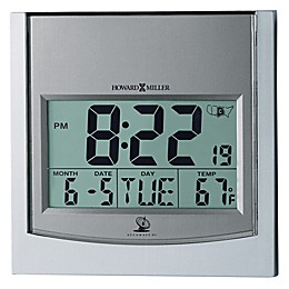 Howard Miller® Techtime I Alarm Clock in Silver