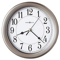 Howard Miller® 8.5-Inch Aries Wall Clock in Brushed Nickel