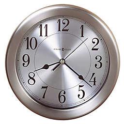 Howard Miller® Pisces 8.5-Inch Wall Clock in Brushed Nickel