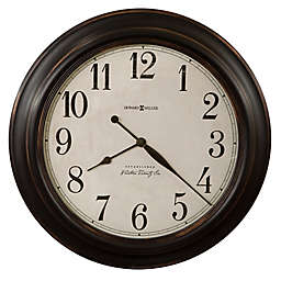 Howard Miller® 30-Inch Ashby Wall Clock in Aged Black