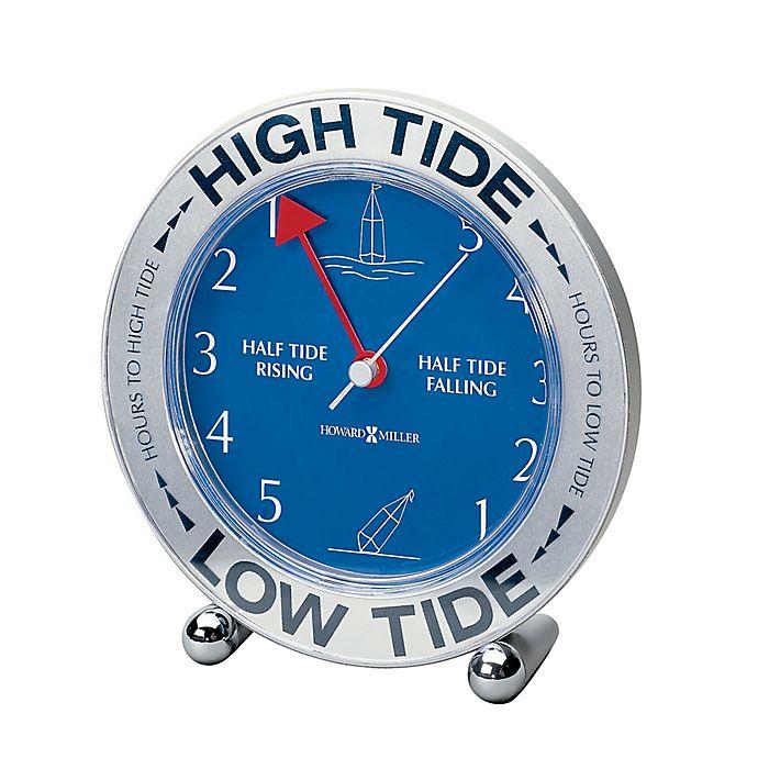 Alternate image 1 for Howard Miller® Tide Mate III Mantel Clock in Silver