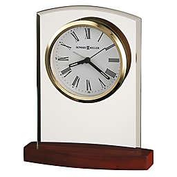 Howard Miller® Marcus Tabletop Clock in Satin Rosewood
