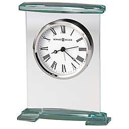 Howard Miller® Augustine Tabletop Alarm Clock in Glass