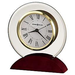 Howard Miller® Dana Tabletop Alarm Clock in Satin Rosewood