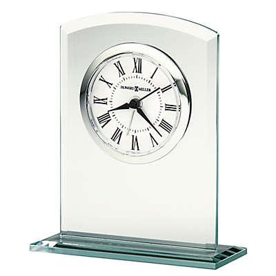 Howard Miller® Medina Tabletop Alarm Clock in Glass