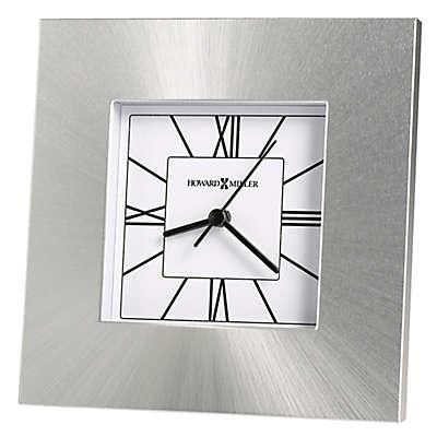 Howard Miller® Kendal Tabletop Clock in Silver