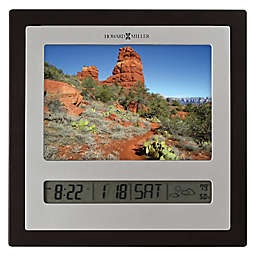 Howard Miller® Persona Tabletop Alarm Clock in Silver