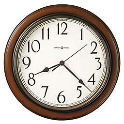 Howard Miller® 15.25-Inch Kalvin Wall Clock in Cherry Finish