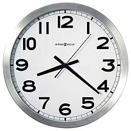 Howard Miller® 15.75-Inch Spokane Wall Clock in Brushed Aluminum