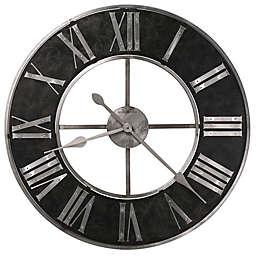 Howard Miller® 32-Inch Dearborn Wall Clock in Black/Silver
