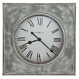 Howard Miller® 31.5-Inch Bathazaar Wall Clock in Aged White/Grey