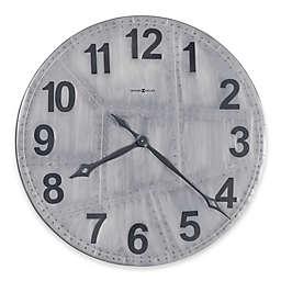 Howard Miller® 33-Inch Aviator Gallery Wall Clock in Aged Aluminum