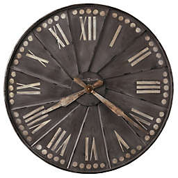 Howard Miller® 35-Inch Stockhard Gallery Wall Clock in Antique Charcoal