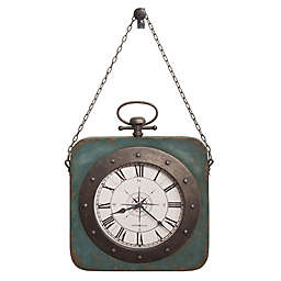 Howard Miller® 17.5-Inch Windrose Wall Clock in Antique Blue