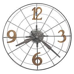 Howard Miller® 32.25-Inch Phan Wall Clock in Warm Grey