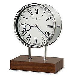Howard Miller® Zoltan Mantel Clock in Walnut/Chrome