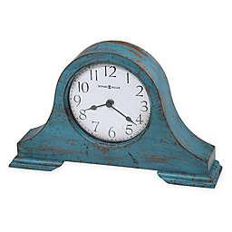 Howard Miller® Tamson Mantel Clock in Teal Blue