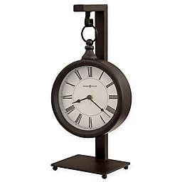 Howard Miller® Loman Mantel Clock in Antique Black