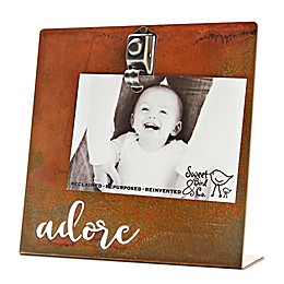 Sweet Bird & Co. 4-Inch x 6-Inch Adore Clip Picture Frame