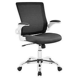 Serta® Wood/metal Swivel Chair