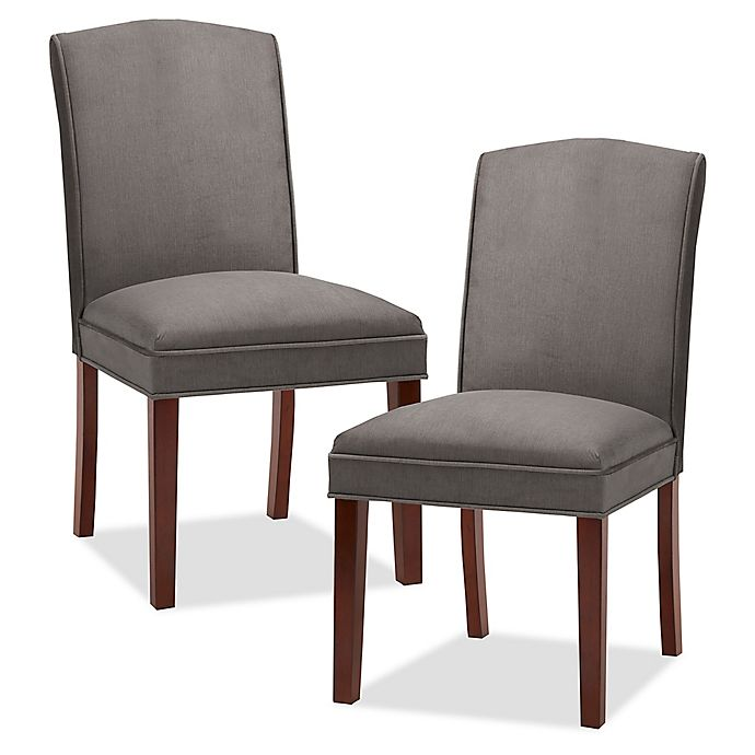 Alternate image 1 for Madison Park™ Camel Upholstered Dining Chairs (Set of 2)