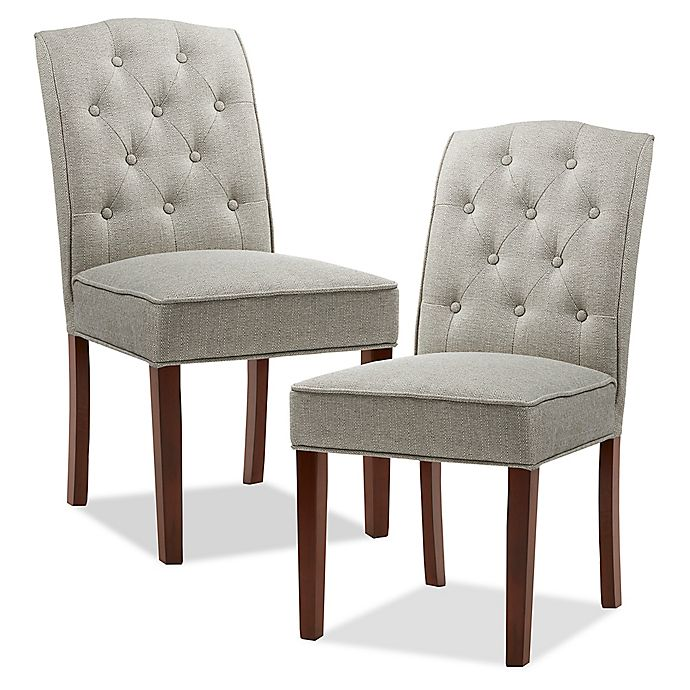 Alternate image 1 for Madison Park™ Marian Upholstered Dining Chairs (Set of 2)