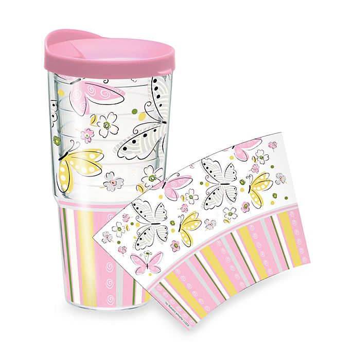 Alternate image 1 for Tervis® Butterfly 24-Ounce Tumbler