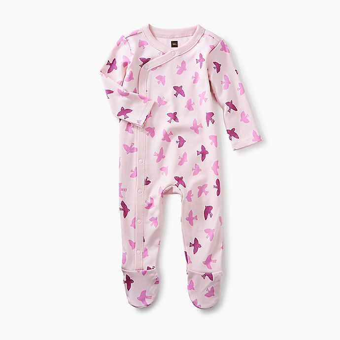 Alternate image 1 for Tea Collection Birds Footed Coverall