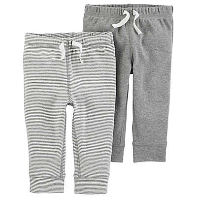carter's® 2-Pack Pull-On Pant in Grey