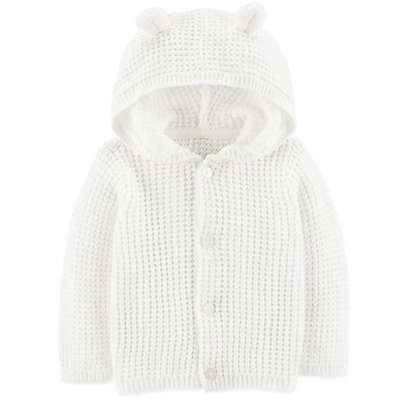 carter's® Hooded Sweater in Ivory