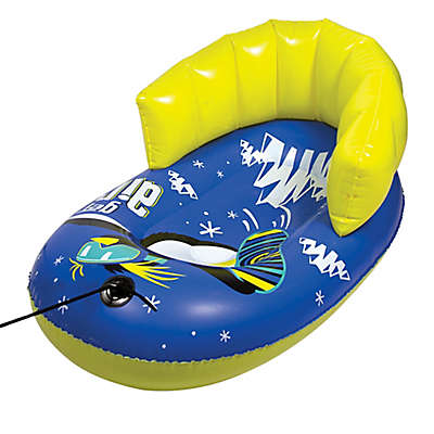 Pipeline Sno Snowpal Penguin Pull Sled in Dark Blue/Yellow